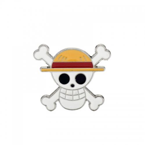Металлическая брошка One Piece