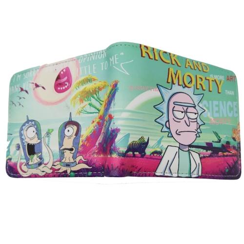 Кошелек Рик и Морти