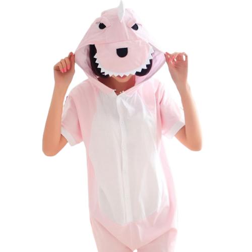 Кигуруми Розовый Динозавр летнее