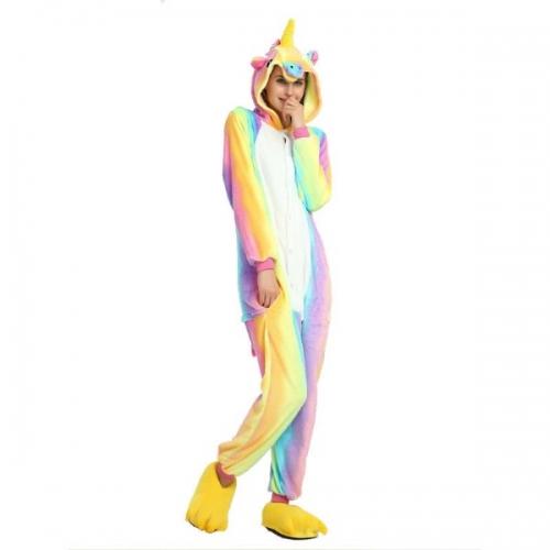 Пижама-кигуруми Радужный Единорог