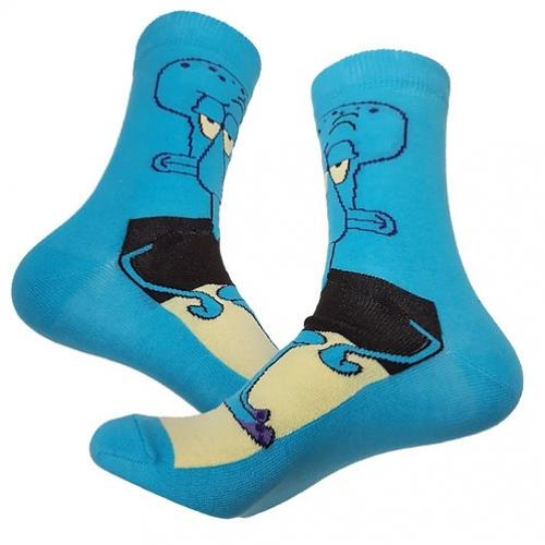 Высокие носки Сквидвард