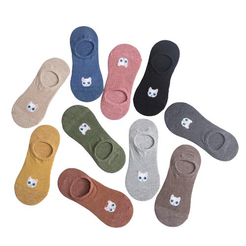 Короткие женские носки Котики