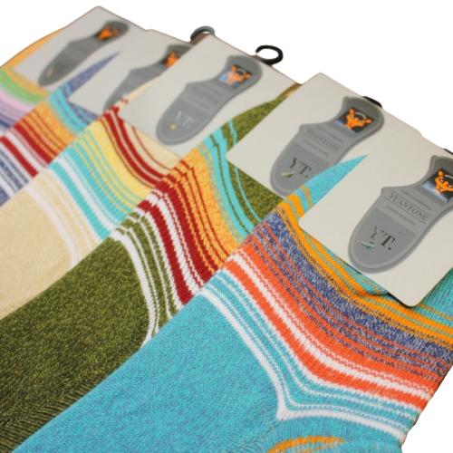 Мужские носки следки разноцветные