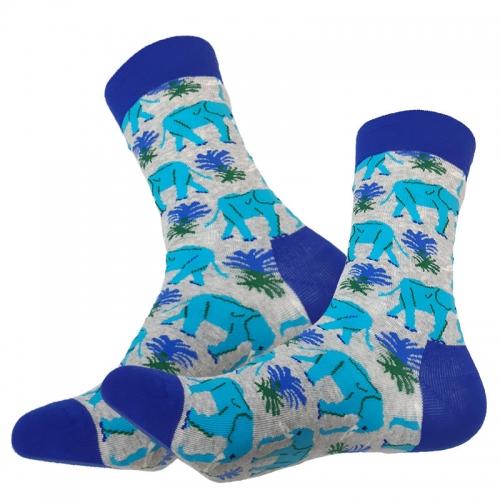 Высокие носки Слоны
