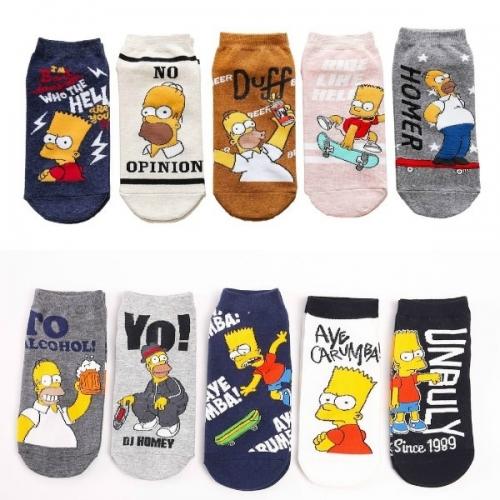 Низкие носки Симпсоны