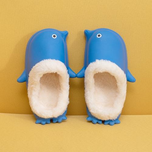 Детские домашние тапочки Пингвины