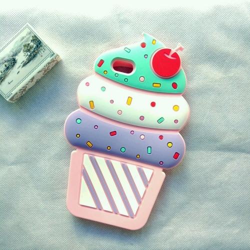 Чехол Мороженое для iPhone 6/7