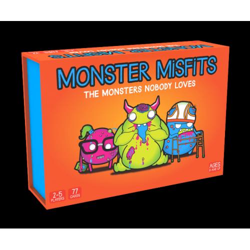 Карточная настольная игра Monster Misfits