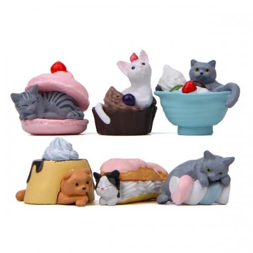 Фигурка десертные Котики