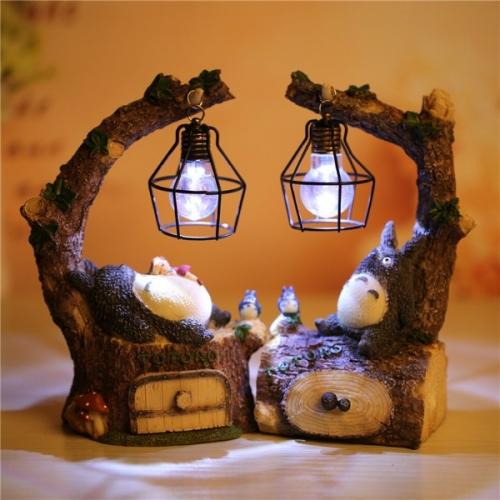 Декоративный  светильник-шкатулка  Тоторо