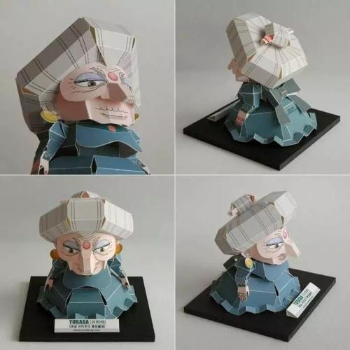 Бумажный 3D конструктор Юбаба