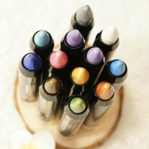 Перламутровые тени-карандаш для век Maycheer