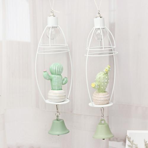 Декоративный светильник с колокольчиком Кактус