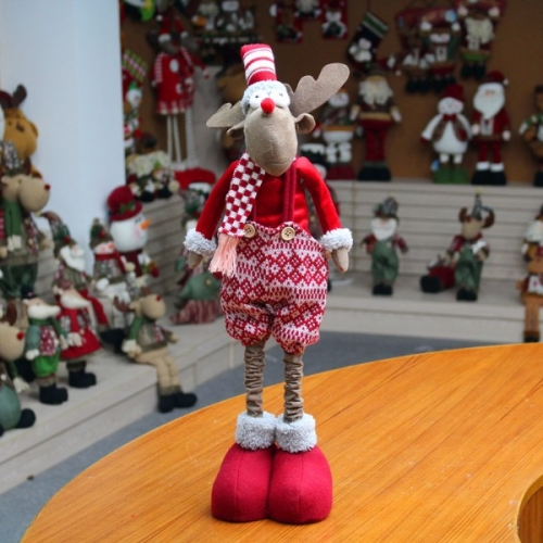 Интерьерная Новогодняя игрушка Олень Санты