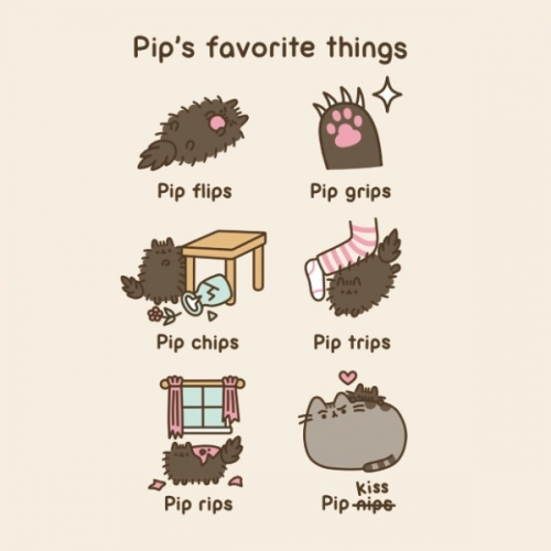 Открытка Pip's favorite things