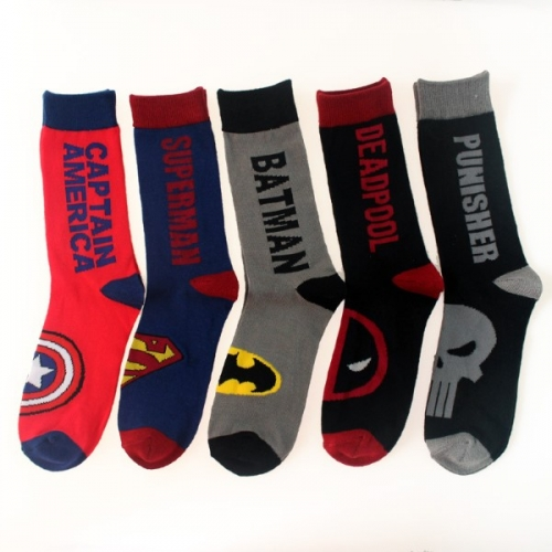Высокие мужские носки Супергерои