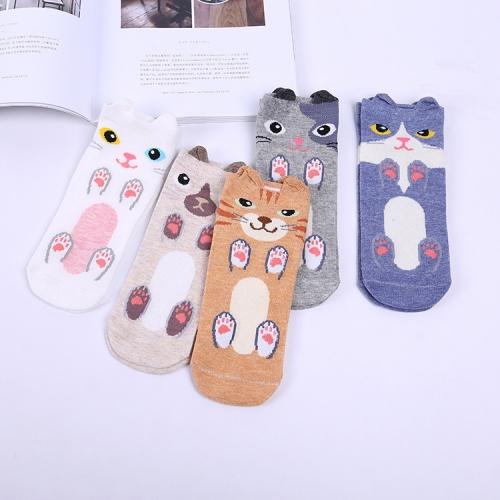Женские носки Котики