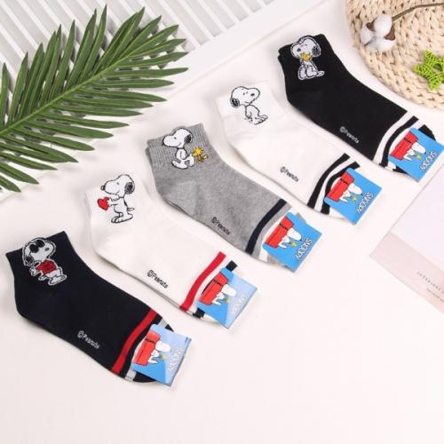 Женские высокие носки Snoopy