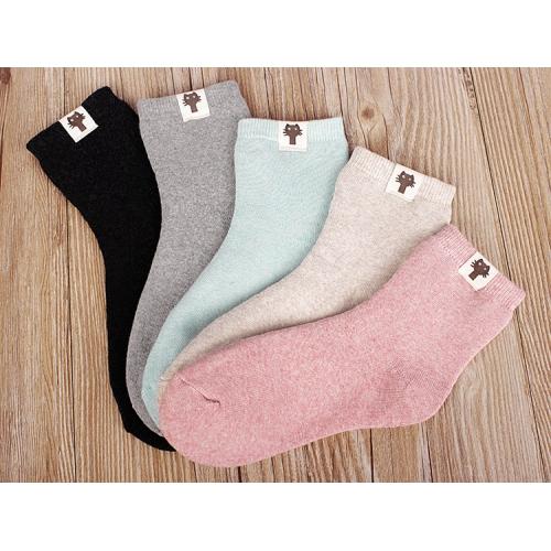 Женские теплые носки Котики