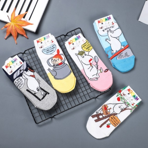 Женские низкие носки Moomin