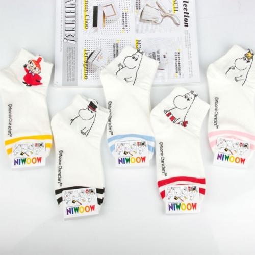 Женские высокие носки Moomin